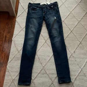 Abercrombie US 26/L33 length Low Rise Jeans